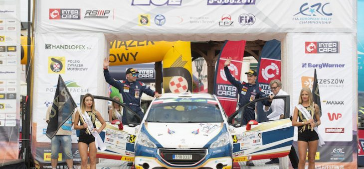Mareš claims Rzeszow ERC Junior podium for ACCR Czech Team