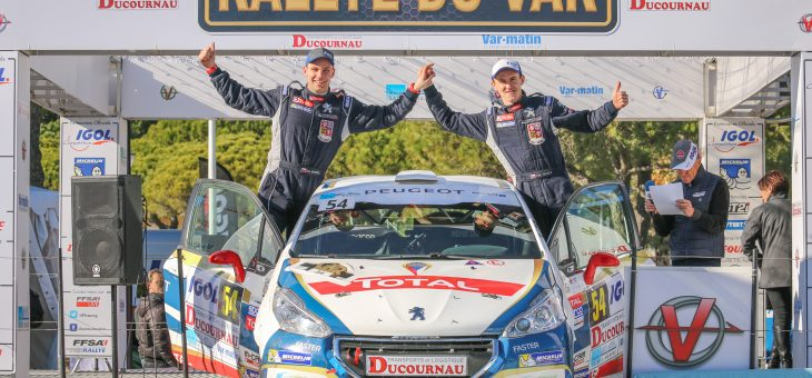 Mareš impressed all by his performance at Rallye du Var