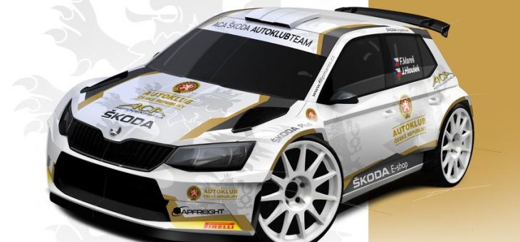 ACA ŠKODA AUTOKLUB TEAM – Filip Mareš v novém týmu s Fabií R5
