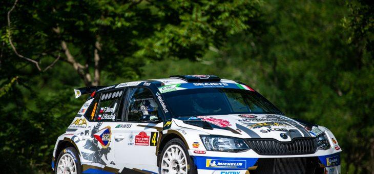 Italská rally Marešovi vyšla, zvítězil v ERC1 Junior