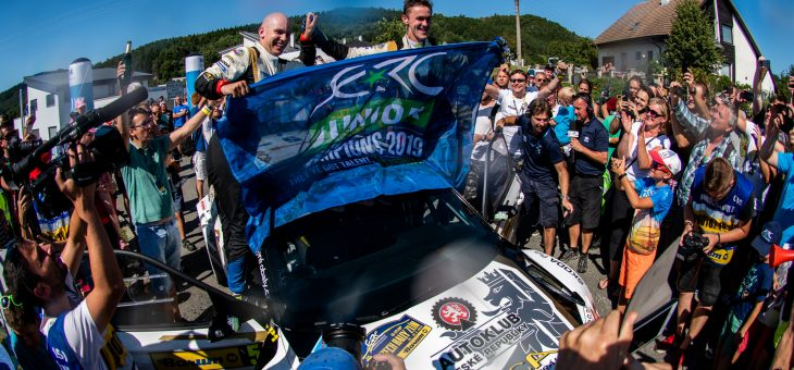 Filip Mares is a Junior European Rally Champion
